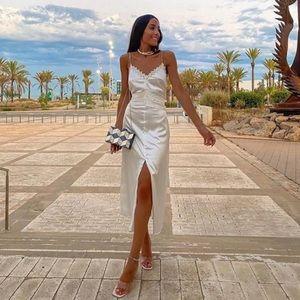 Zara - satin dress